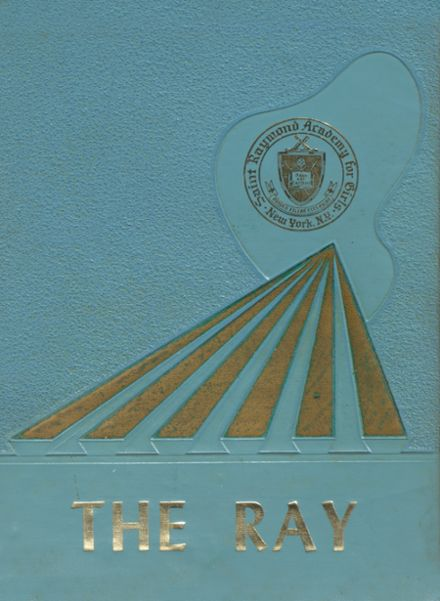 1964 St. Raymond Academy for Girls Yearbook Cover
