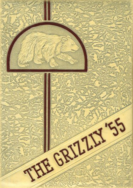 1955 Bluff City High School Yearbook Cover
