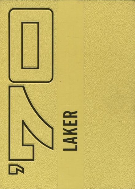 1970 Lake Crystal High School Yearbook Cover