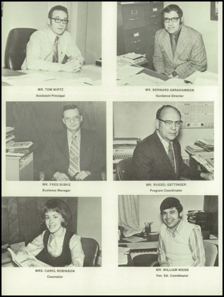 1973 River Falls High School Yearbook Page 8