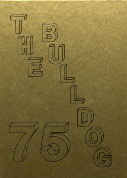 1975 Maysville High School Yearbook Cover