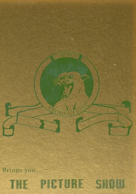 1977 Colonel White High School Yearbook Cover