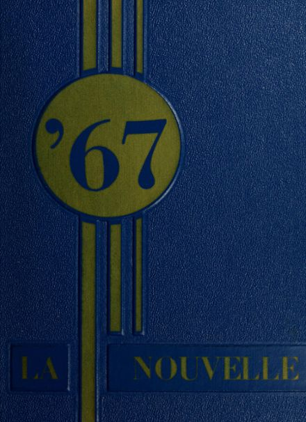 1967 Cathedral High School Yearbook Cover