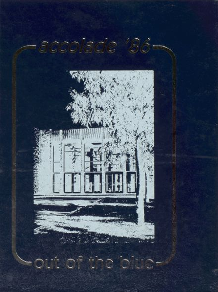 1986 North Penn High School Yearbook Cover