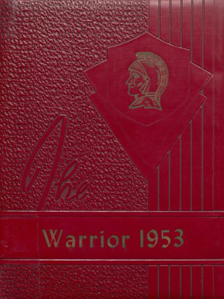 1953 McHenry Community High School Yearbook Cover