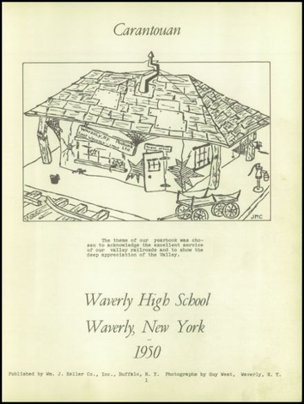 1950 Waverly High School Yearbook Page 5