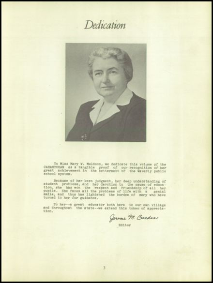 1950 Waverly High School Yearbook Page 7