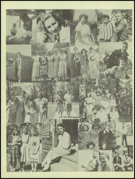 1950 Waverly High School Yearbook Page 8