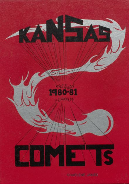 1981 Kansas High School Yearbook Cover