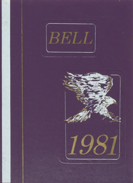 1981 Bell High School Yearbook Cover
