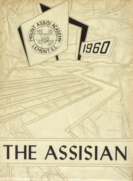 1960 Mt. Assisi Academy Yearbook Cover