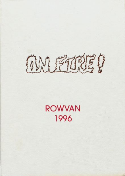 1996 ROWVA High School Yearbook Cover