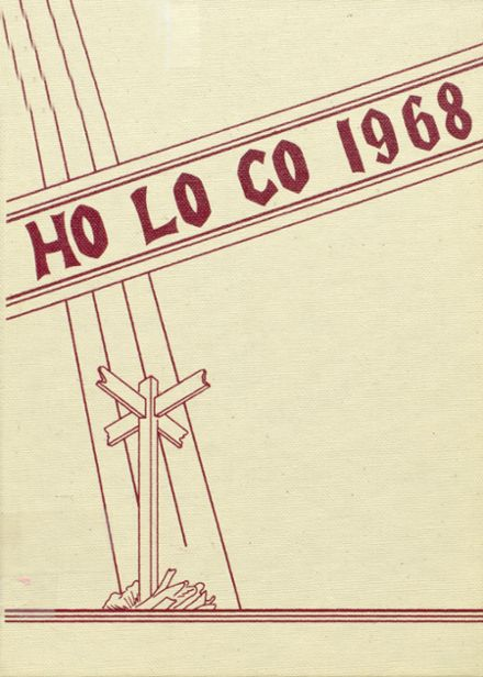 1968 Estherville High School Yearbook Cover