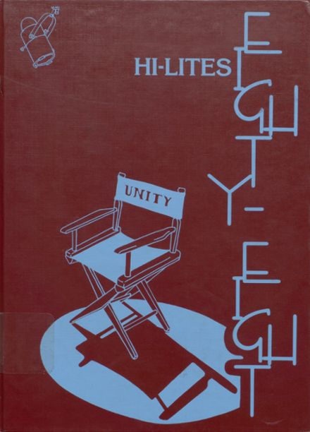 1988 Unity High School Yearbook Cover