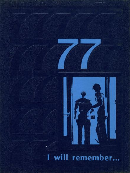 1977 Inola High School Yearbook Cover