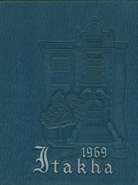 1969 Morristown Hamblen East High School Yearbook Cover