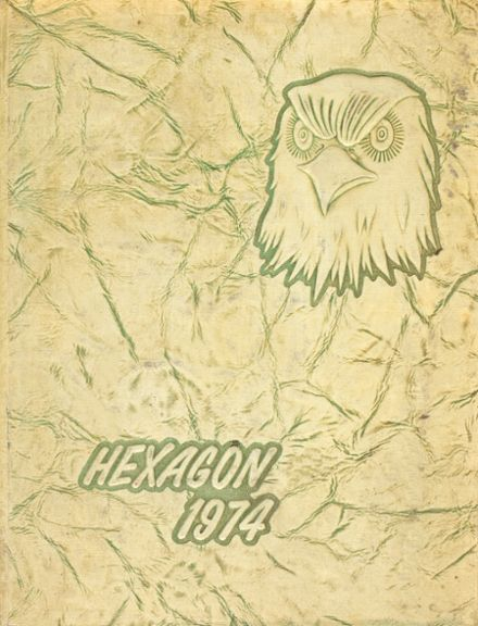 1974 Seventy-First High School Yearbook Cover