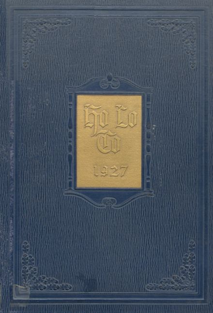 1927 Estherville High School Yearbook Cover