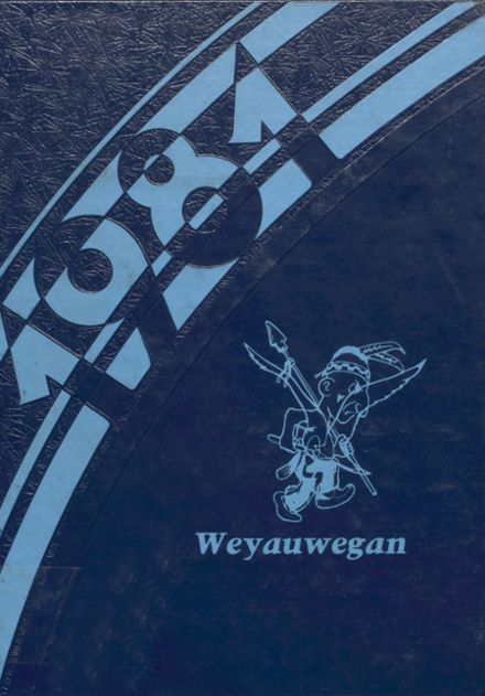 1981 Weyauwega High School Yearbook Cover