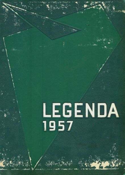1957 Arthur Hill High School Yearbook Cover