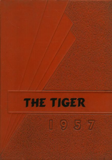 1957 Mulberry High School Yearbook Cover