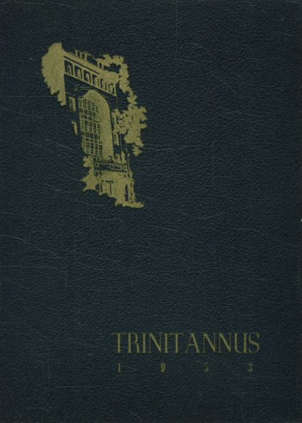 1953 Trinity Pawling High School Yearbook Cover