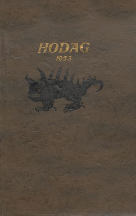 1923 Rhinelander High School Yearbook Cover