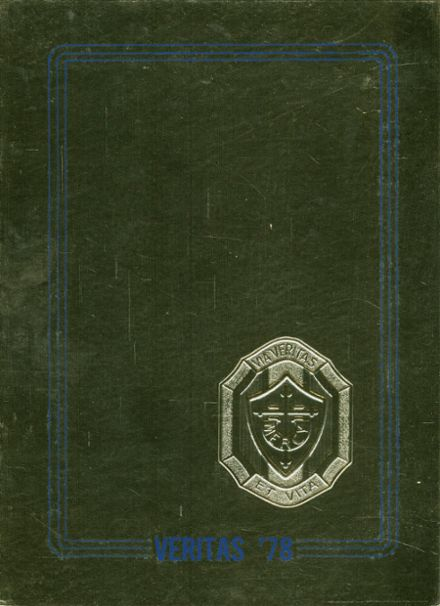 1978 Our Lady of Mercy High School Yearbook Cover