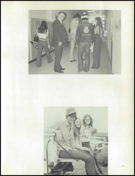 1976 Mildred High School Yearbook Page 7
