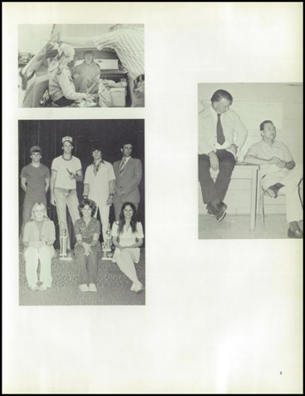 1976 Mildred High School Yearbook Page 9
