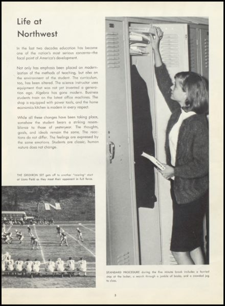 1965 Northwest High School Yearbook Page 7