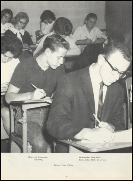 1965 Northwest High School Yearbook Page 8