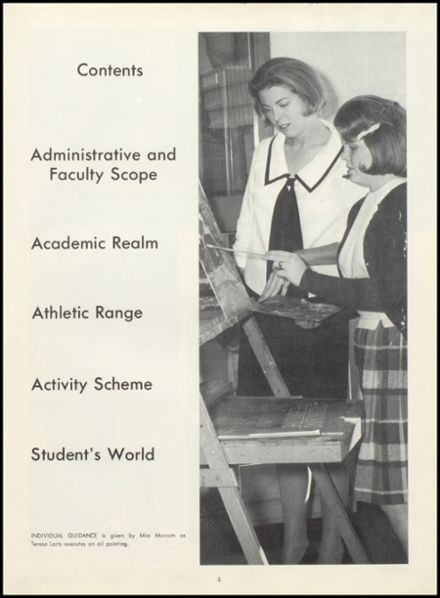 1965 Northwest High School Yearbook Page 9