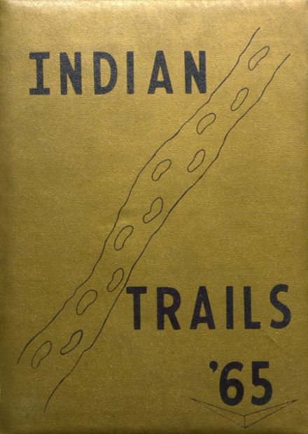 1965 Indianola High School Yearbook Cover