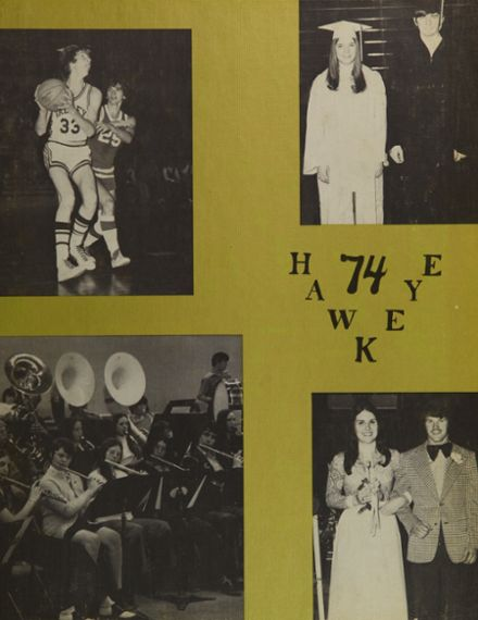 1974 Springs Valley High School Yearbook Page 1