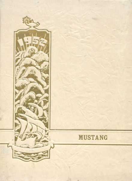 1952 Dodson High School Yearbook Cover