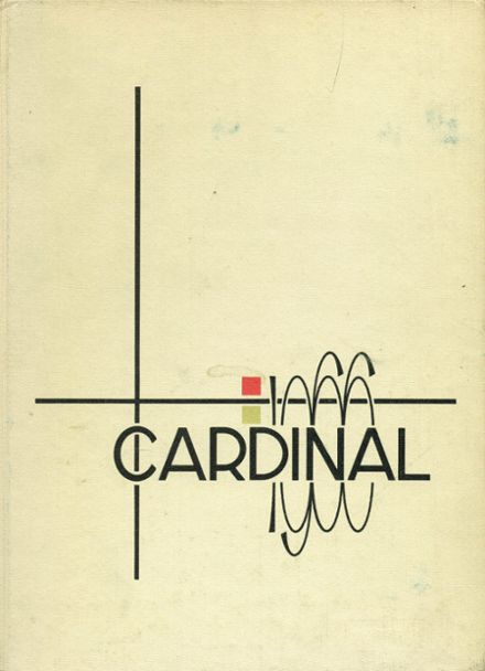 1966 Glendale High School Yearbook Cover