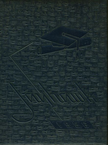 1956 Jeannette High School Yearbook Cover