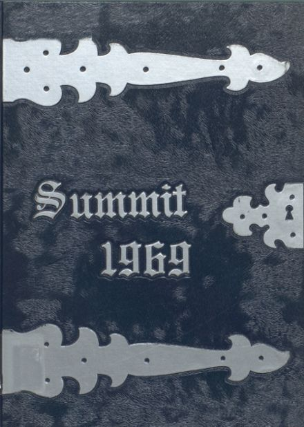 1969 Chester High School Yearbook Cover