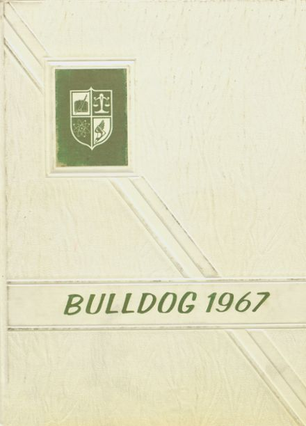 1967 Osceola High School Yearbook Cover