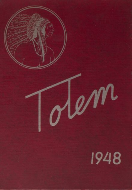 1948 Ridgefarm High School Yearbook Cover