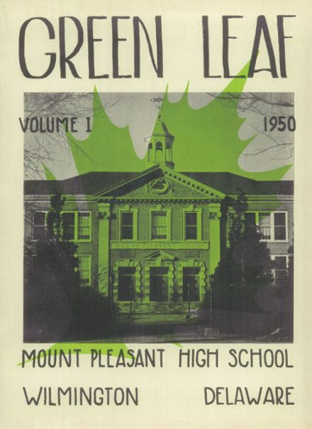 1950 Mt. Pleasant High School Yearbook Page 1