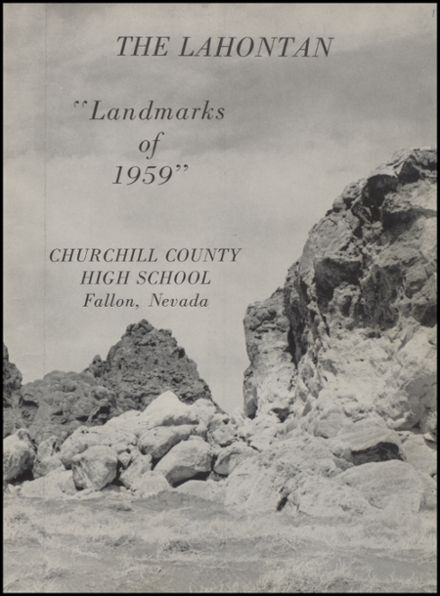 1959 Churchill County High School Yearbook Page 5