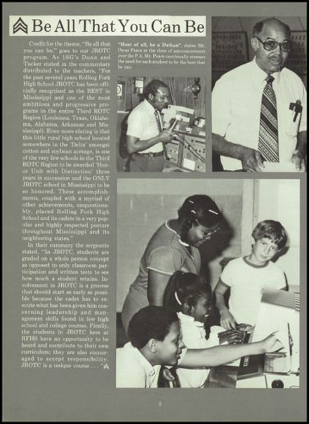 1983 Rolling Fork High School Yearbook Page 6