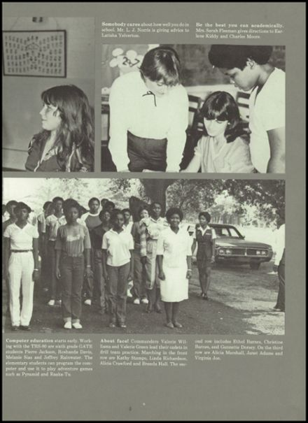 1983 Rolling Fork High School Yearbook Page 7