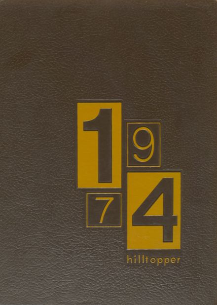 1974 Hillcrest High School Yearbook Cover