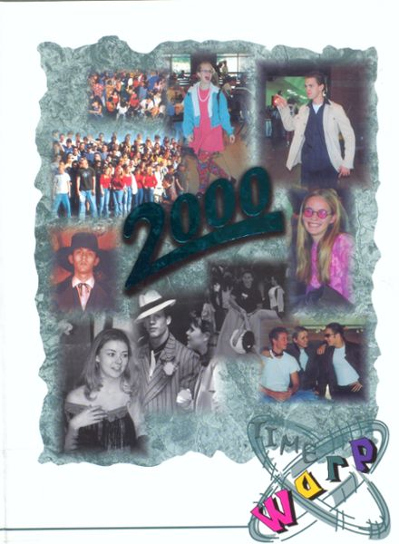2000 Highland High School Yearbook Cover