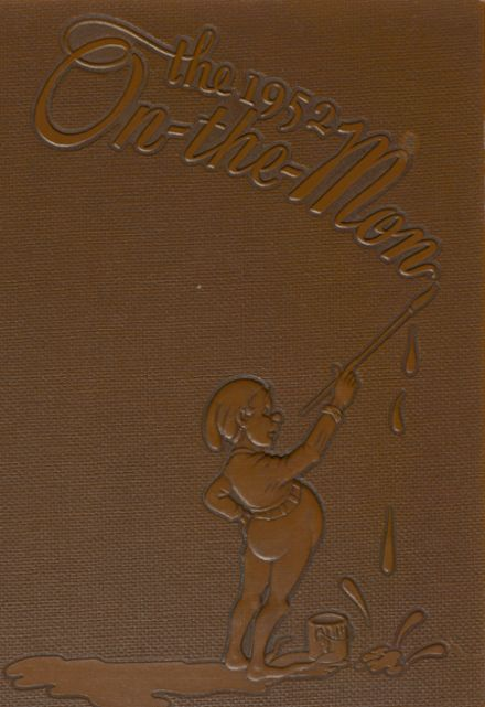 1952 Brownsville High School Yearbook Cover
