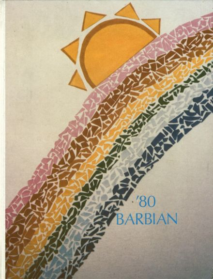 1980 St. Barbara High School Yearbook Cover