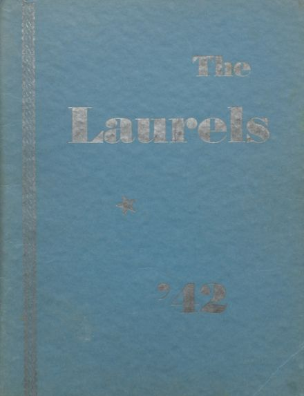 1942 Laurel High School Yearbook Cover